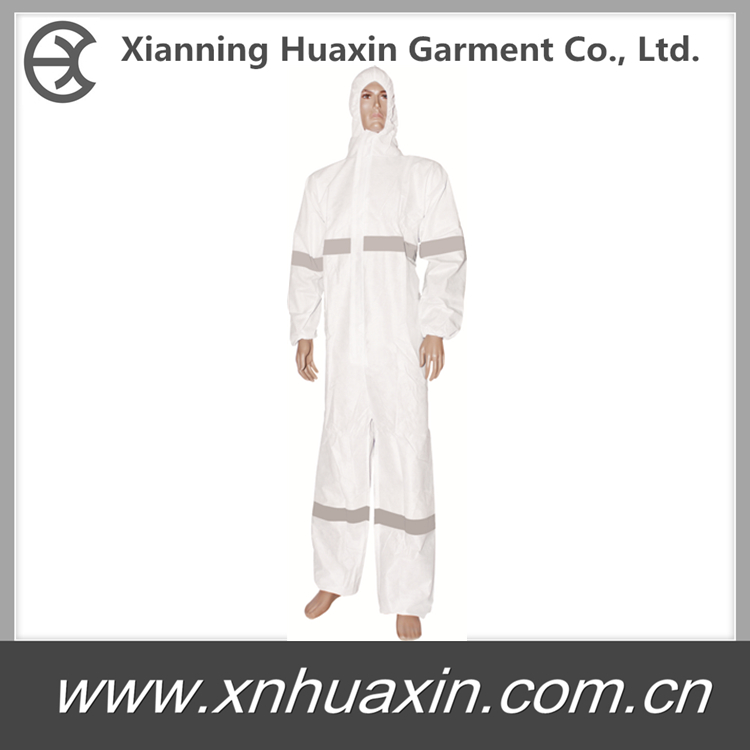 HXCR-08:coverall with reflective stripes