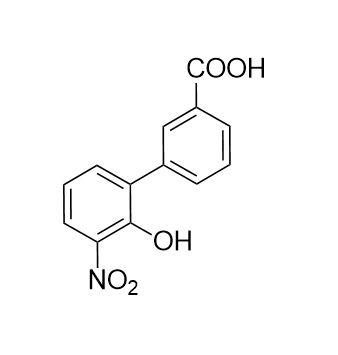 2'-Hydroxy-3'-nitro-[1,1'-biphenyl]-3-carboxylic acid (CAS NO.:376591-95-6)