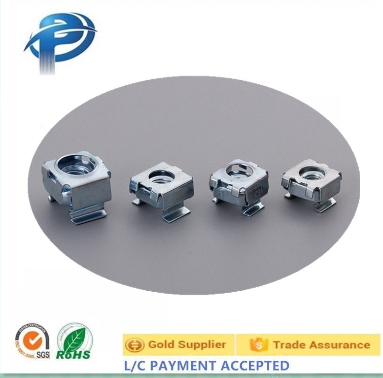 High Quality M6 stainless steel & steel nuts and Carbinet cage nuts