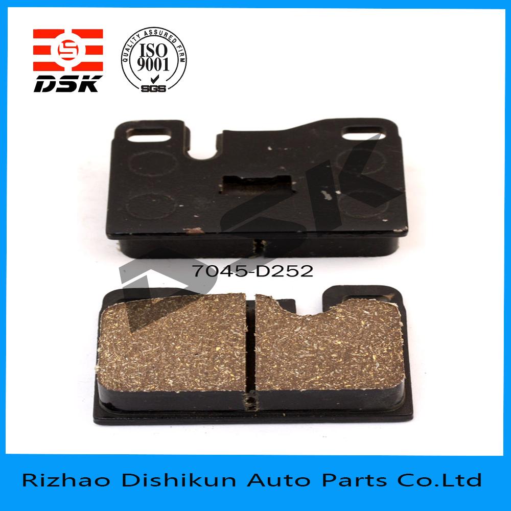 excellent quality low noise auto part brake pad 7045-D252