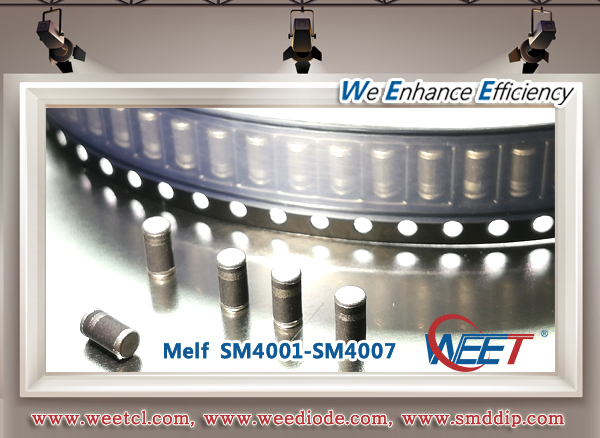 WEET MELF General Purpose Rectifiers SM4007 Surface Mount Glass Passivated Silicon Rectifier
