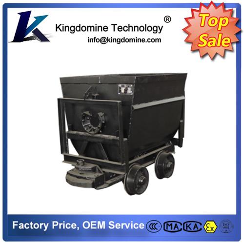 Railway Self-Discharging Vans and Wagons, Side Dump Mine Car