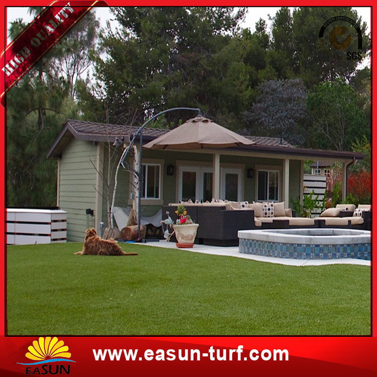 ChinaOutdoorSyntheticLandscaping ArtificialGrass-Donut