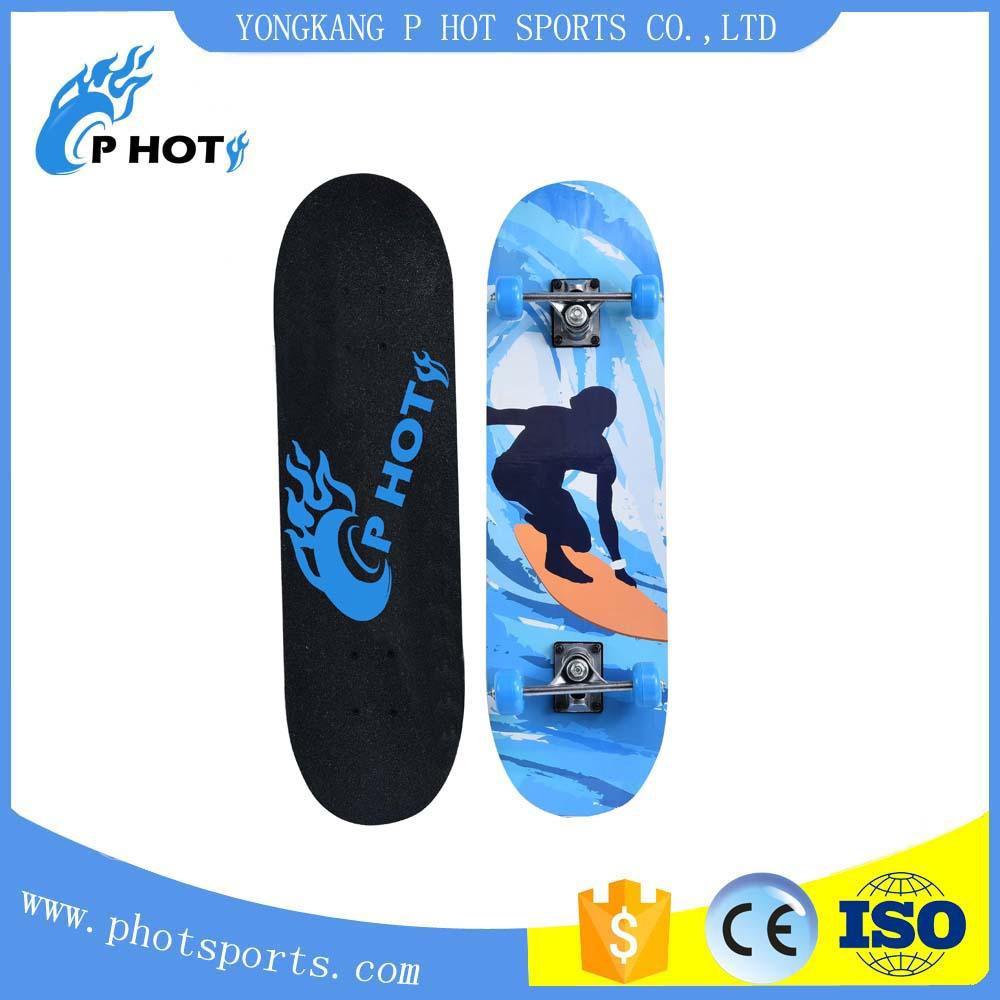 28 inch skateboard 9 layer Chinese Maple skate board Adults Skateboard