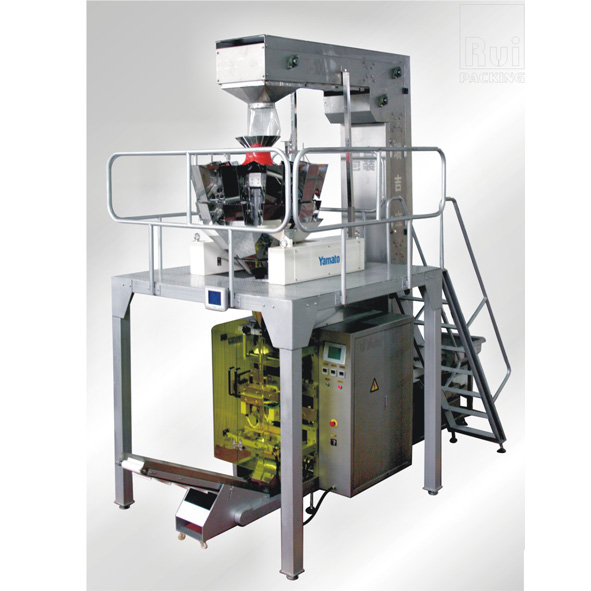 Automatic snack food packaging machine vfs5000fs anhui for Food bar packaging machine