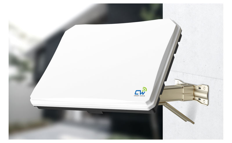 Fixed flat TV antenna for home (S33DC/DL)