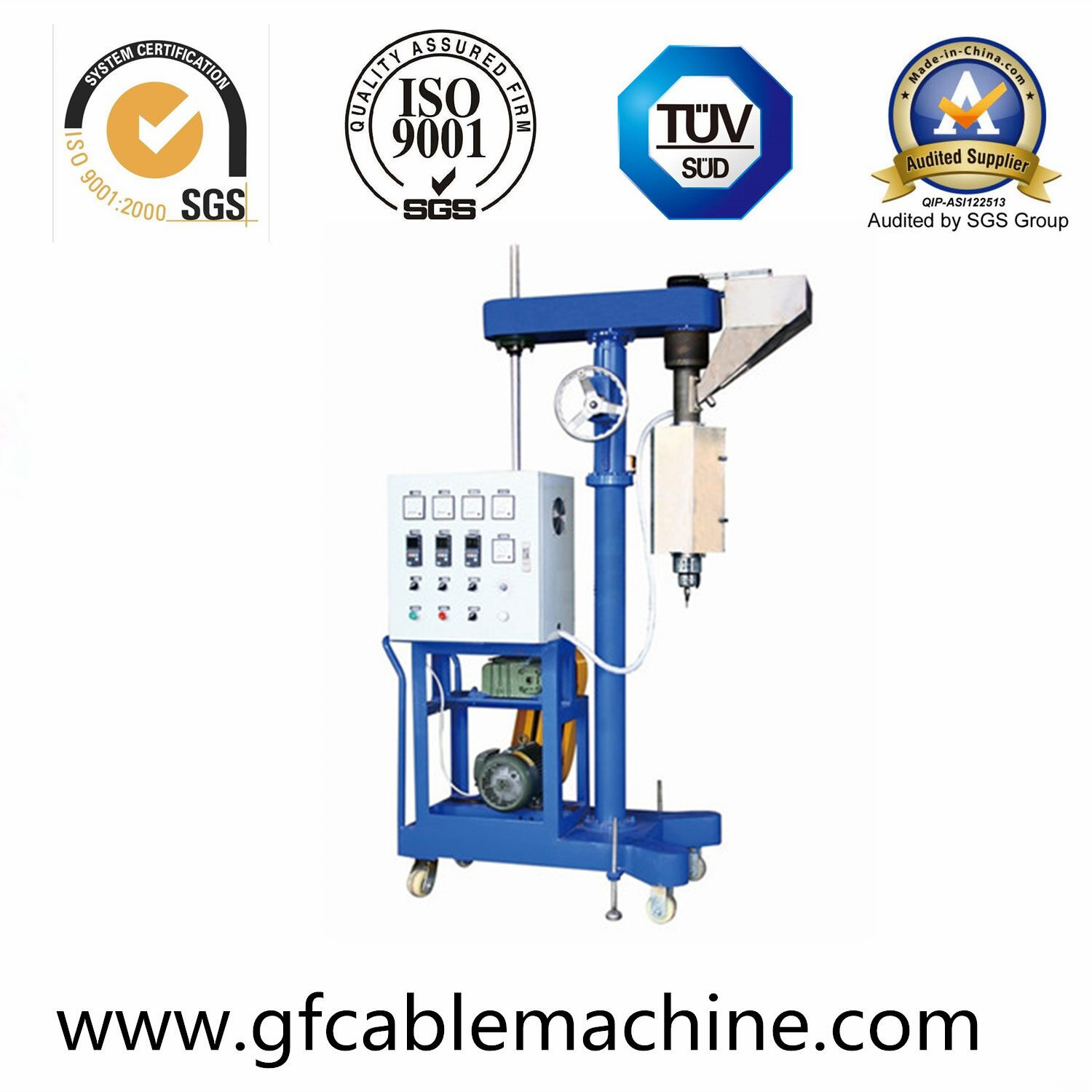 Double Layer Co-Extrusion Wire and Cable Machinery
