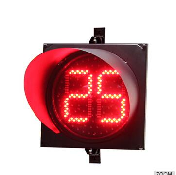 200mm led countdown timer for vehicle traffic
