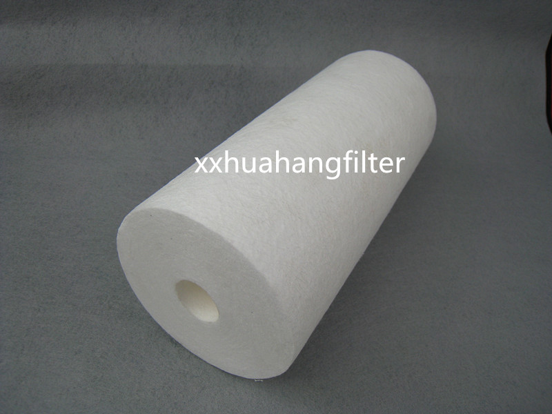 Huanhang Melt blown PP filter cartridge for prefiltration RO system