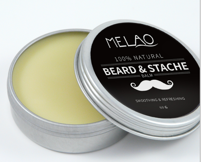 OEM Beard Balm Private Label Leave-in Conditioner - All Natural -Vegan Friendly Organic Oils and But