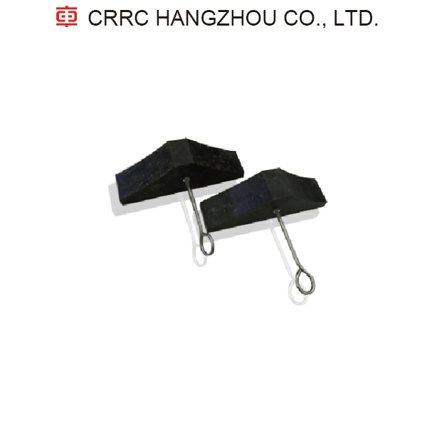 Speed Controllable Wheel Stoppers CRRC on Train Tracks Vehicles