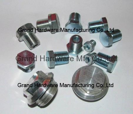 Hydraulic pipe plug