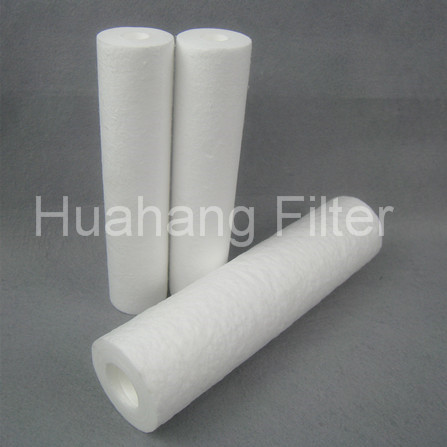 Manufacturer Of 10 Micron 40 Inch PP Sediment Water Filter Element