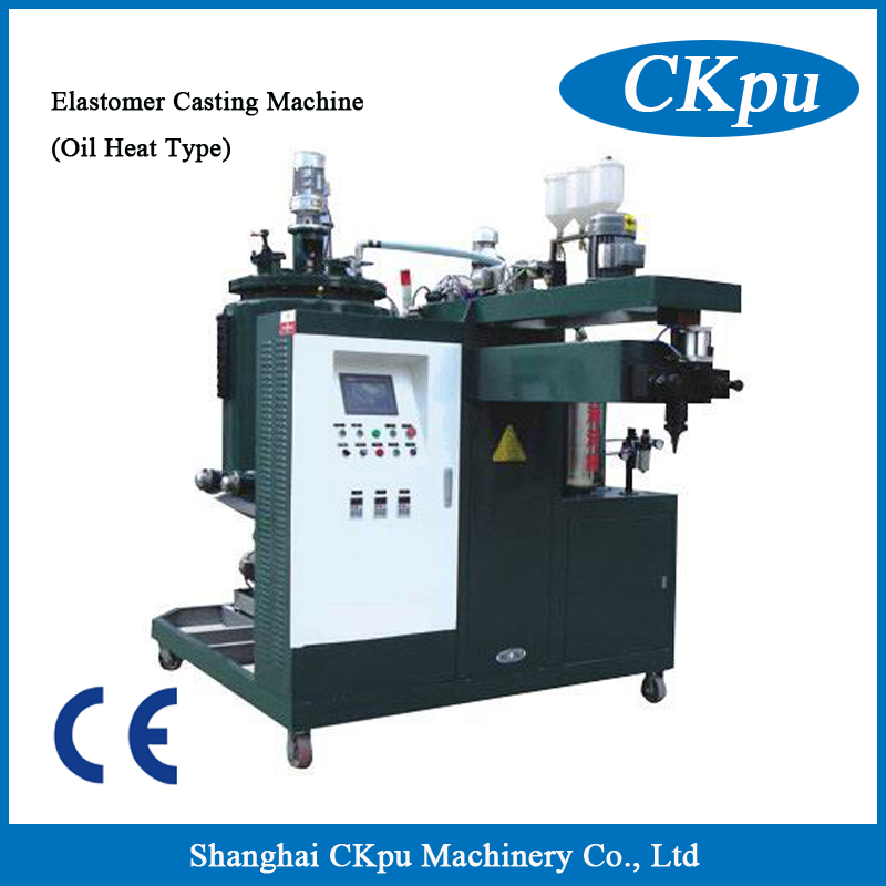 Factory Price Polyurethane Roller Casting Injection Machine