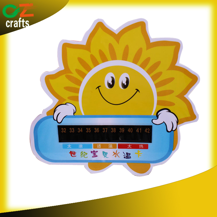 wholesale gift premium promotion bath thermometer card
