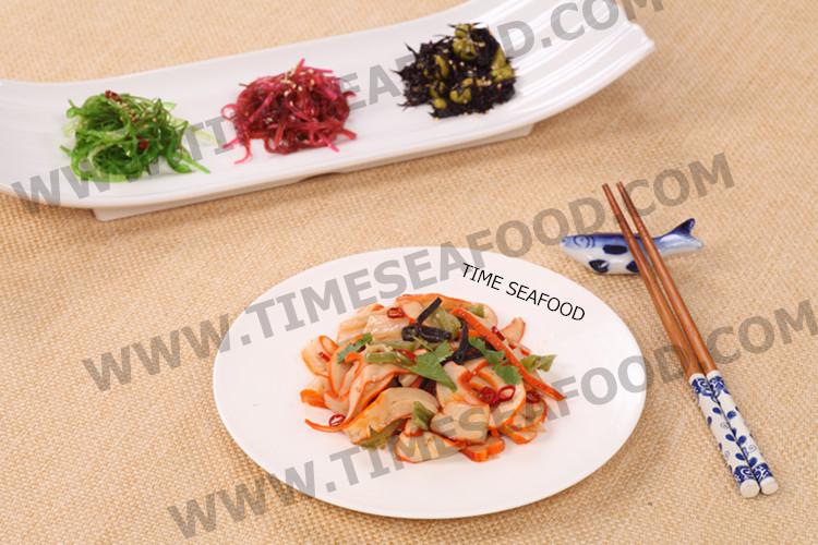Chuka ika sansai, Frozen seasoned calamari salad