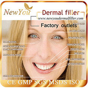 NEW YOU Long Lasting Hyaluronic Acid Dermal Filler for Cosmetic Injection