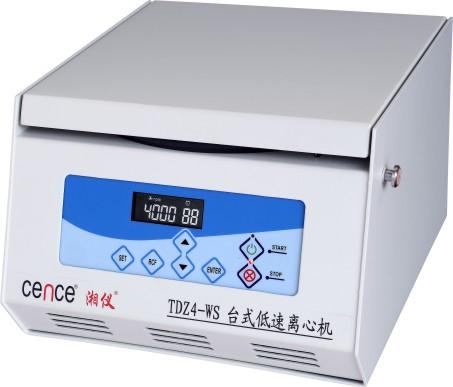 TDZ4-WS Tabletop Low Speed Centrifuge