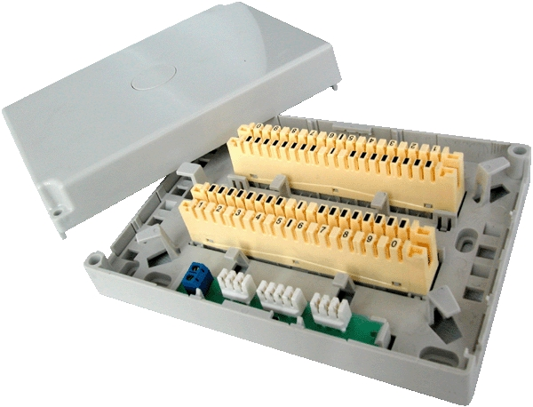 30 Pair Indoor Distribution Box For Connection&Disconnection Module