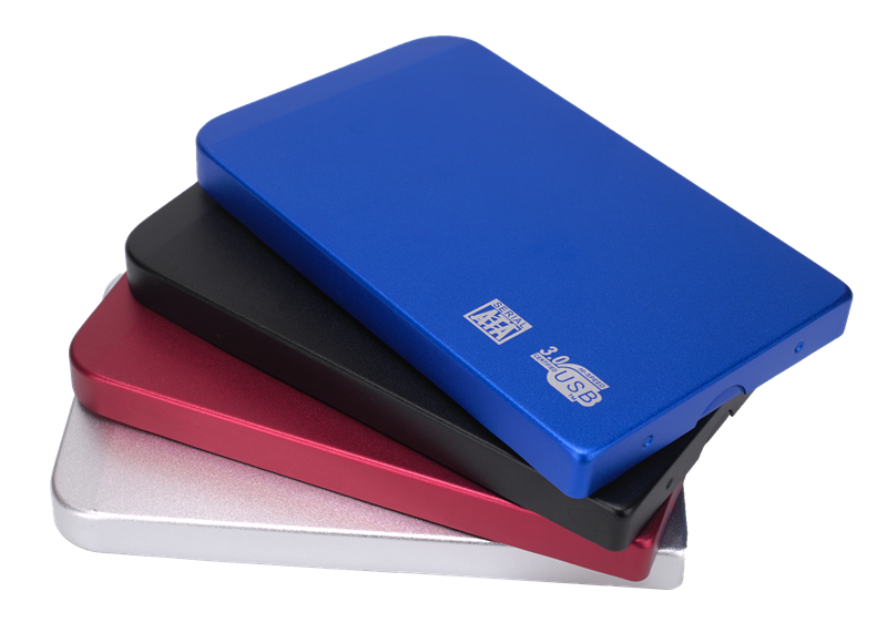 High Quality 2.5 Inch HDD Enclosure External Hard Disk Case HDD Case with USB Cable