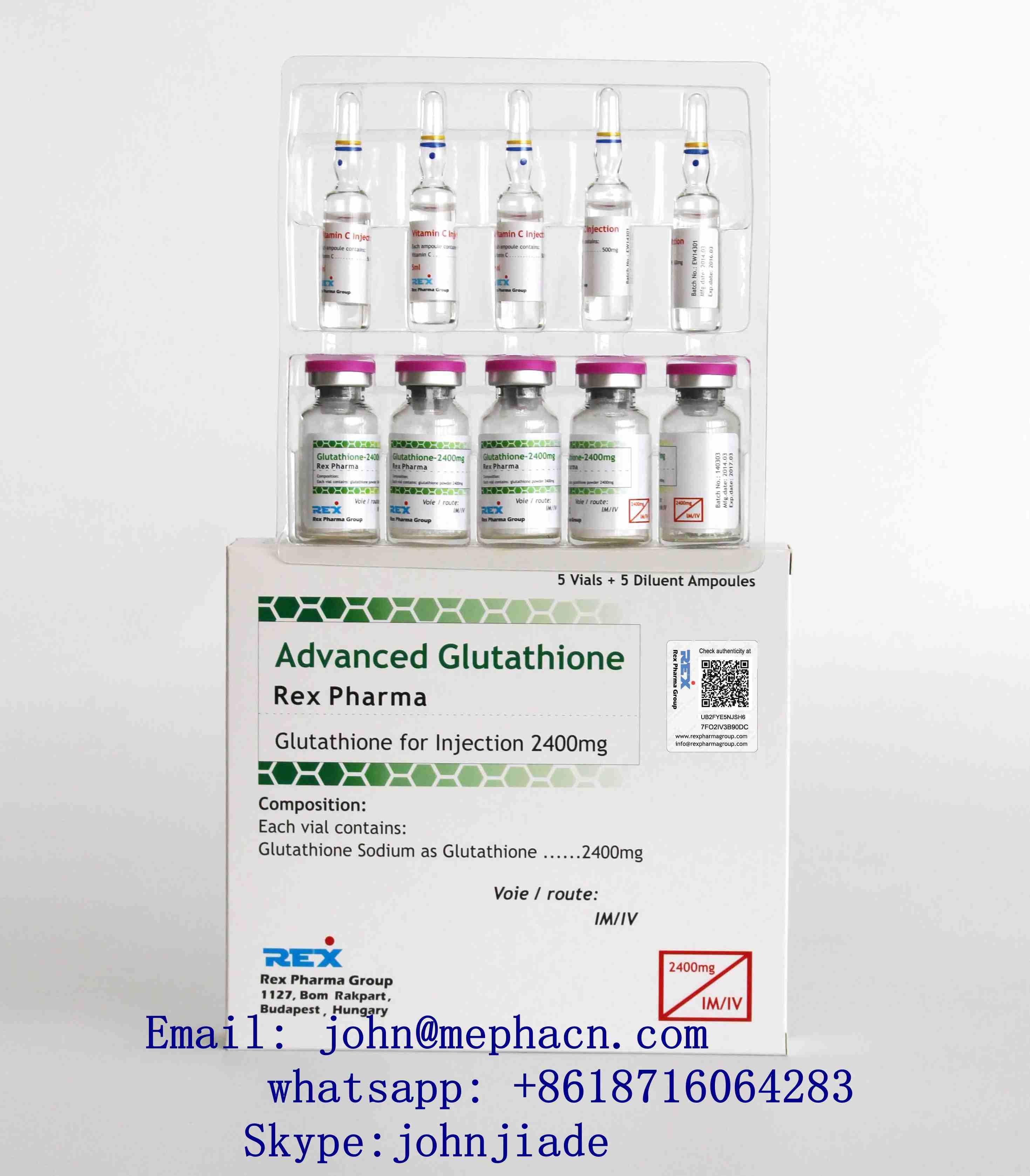 glutahione injection 2400mg