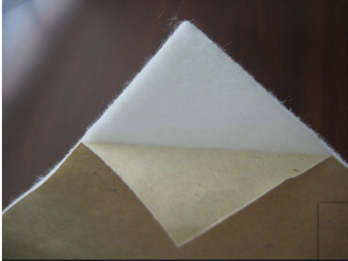 5mm thick self adhesive 100% wool felt for industrial