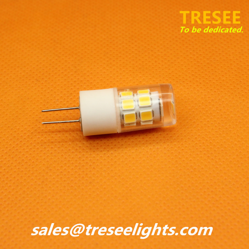 2W LED G4 12V 2 Watt Light Bulb Halogen Replace SMD2835 Chip CE
