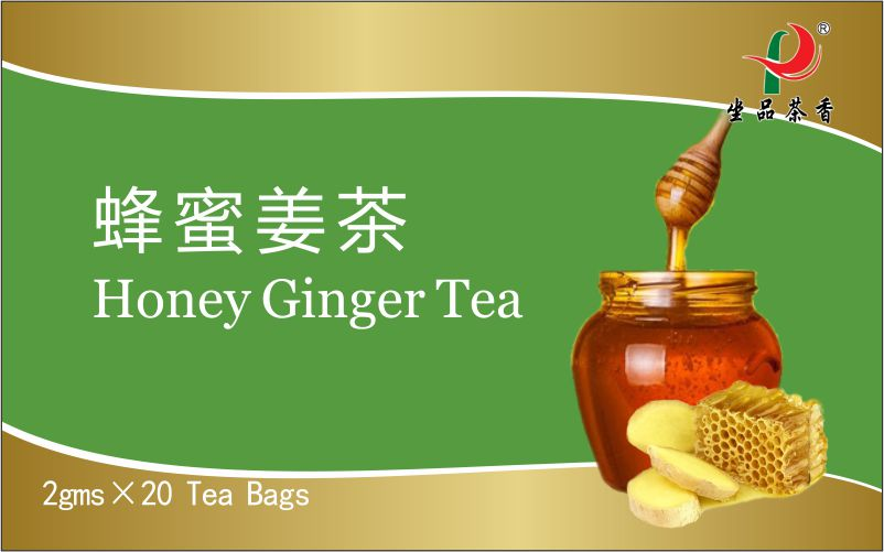 Chinese Herbal Honey Ginger Tea bag