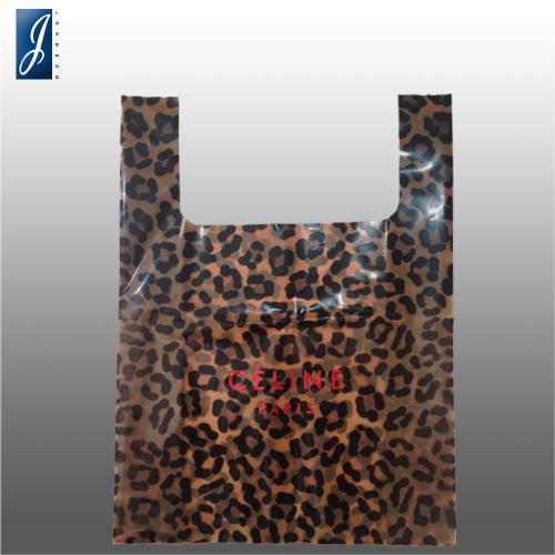 Customized medium plastic shopping bag for CELINE