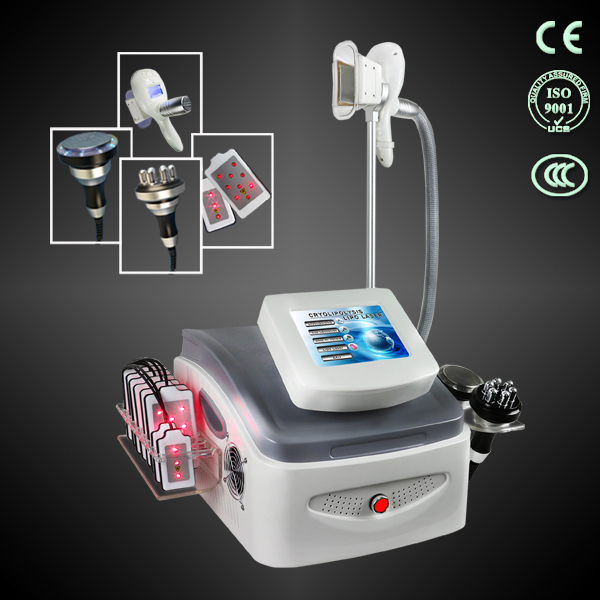 4 in 1 cavitation Lipolaser RF Fat Freezing cryolipolysis machine Professional criolipolisis slimmin
