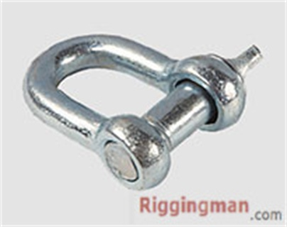 JIS TYPE SCREW PIN CHAIN SHACKLE WITH OR WITHOUT COLLAR