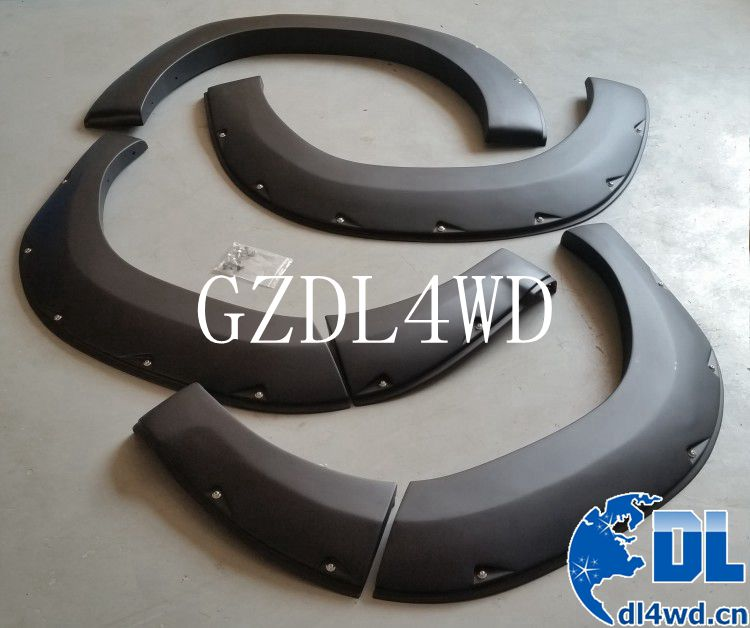 Hilux revo accessories wheel arch flares for toyota hilux auto parts