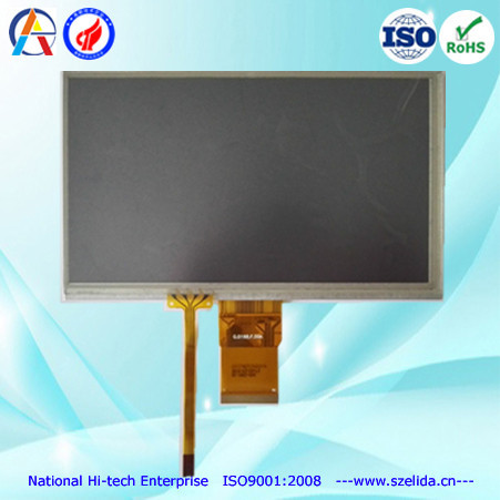 top quality OEM 7 inch tft lcd module display with mipi or lvds or rgb interface