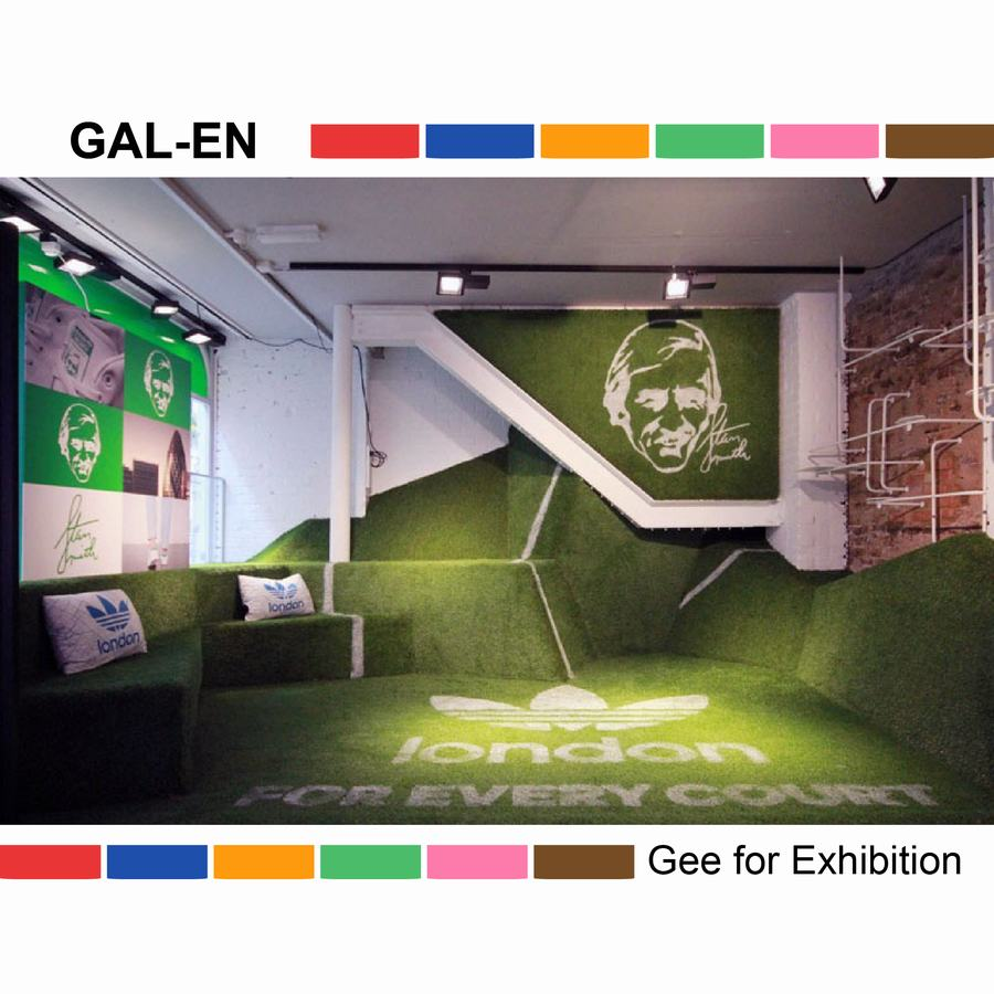 hot selling artificial grass lawn for color