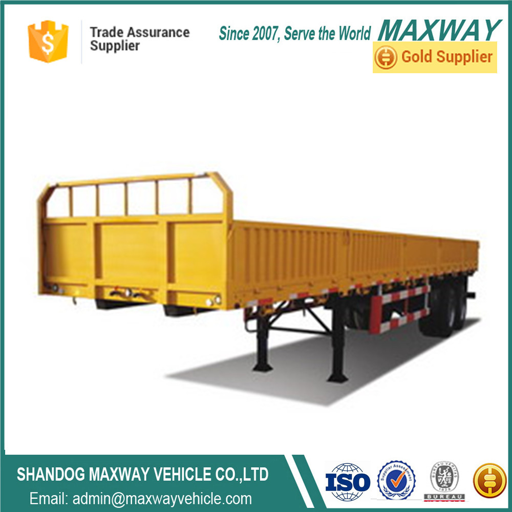 Maxway Vehicle High Quality Side wall Fence truck trailer