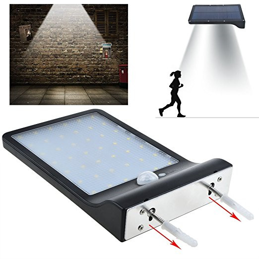 Cheap Price Solar-Powered LED Security Lights with 42 LED