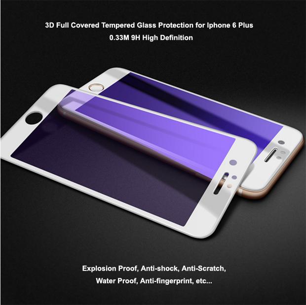 New 9H hardness Anti scratch Anti-bacterial Anti blue light Smart Phone HD Tempered glass screen pro