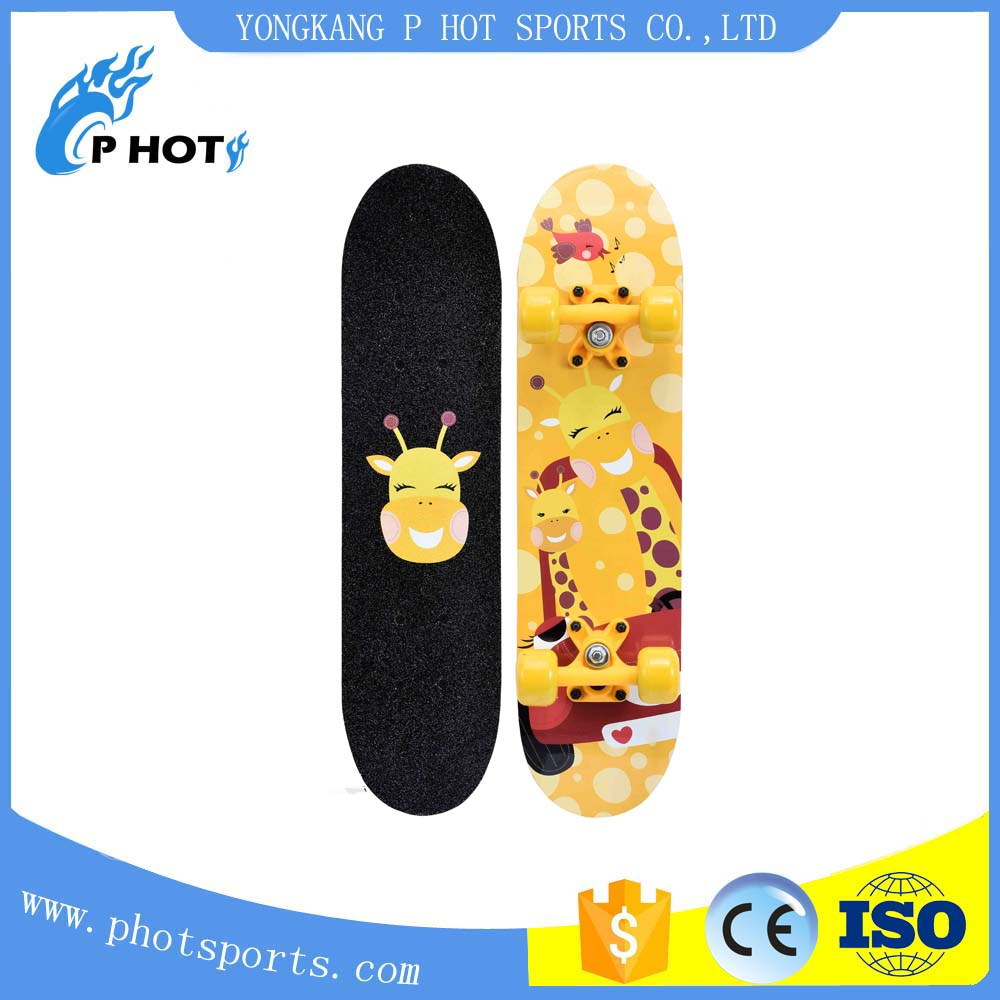 24 inch skateboard 9 layer Chinese Maple skate board Longboard Skateboard