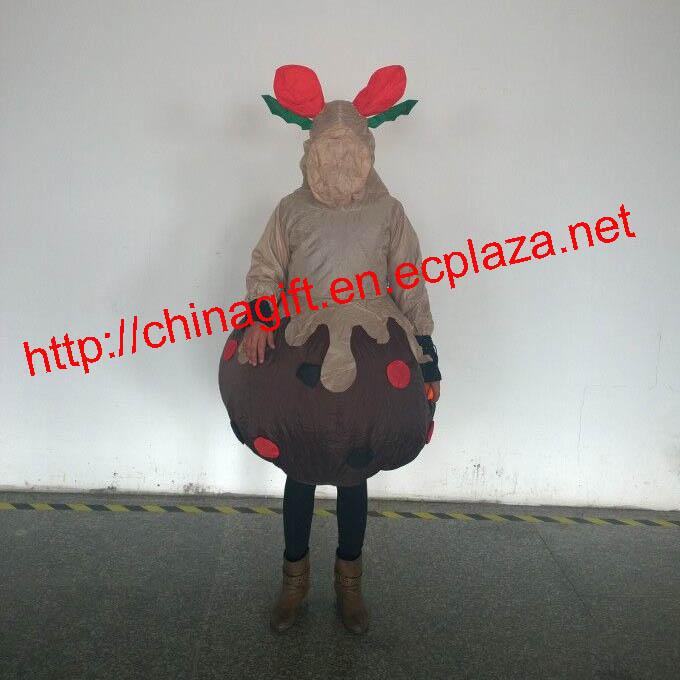 150cm inflatable christmas deer dress costume