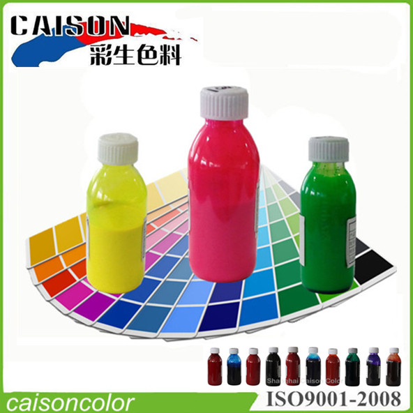 Application analysis of pigment paste