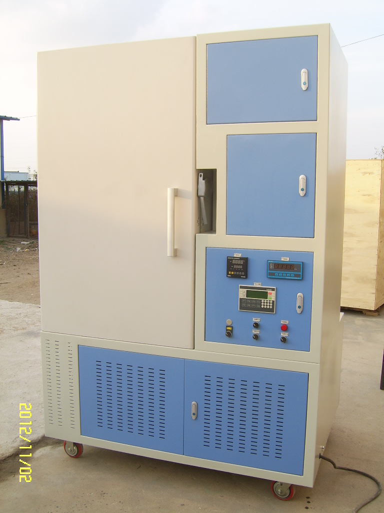 Rubber hose low-temperature deflection test machinery