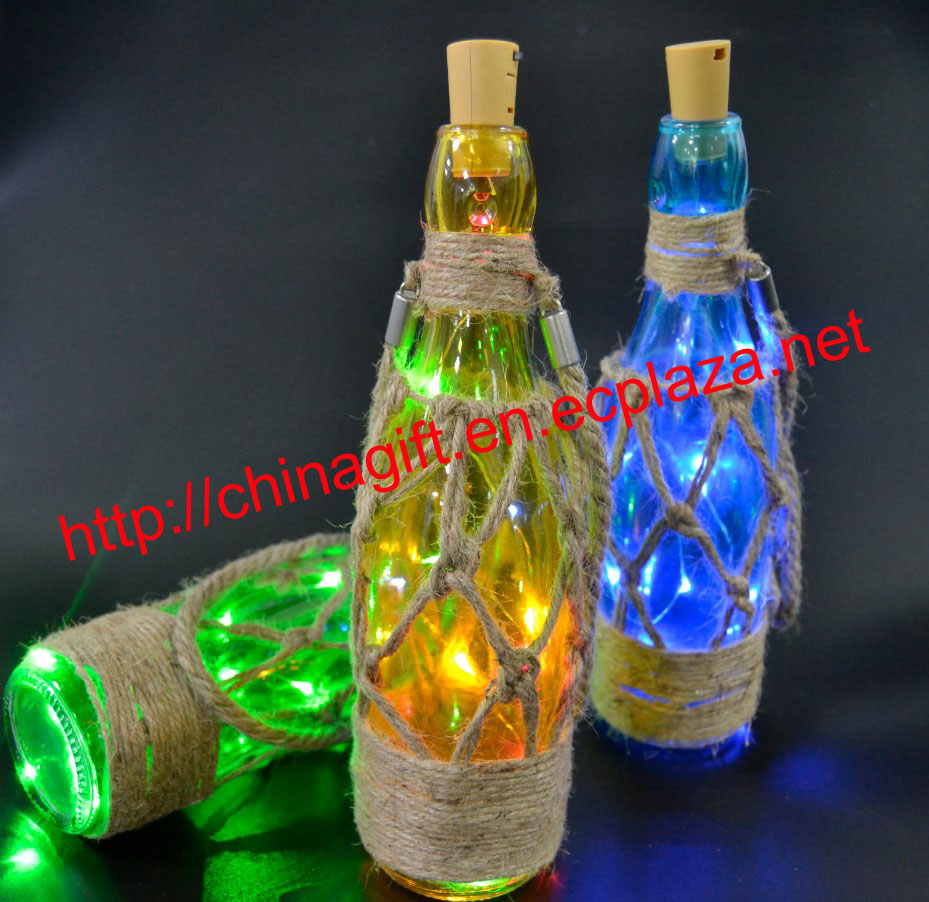 Led Copper Light String Bottle Stop
