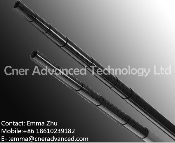 carbon fiber water fed pole telescoping tube for window cleaning