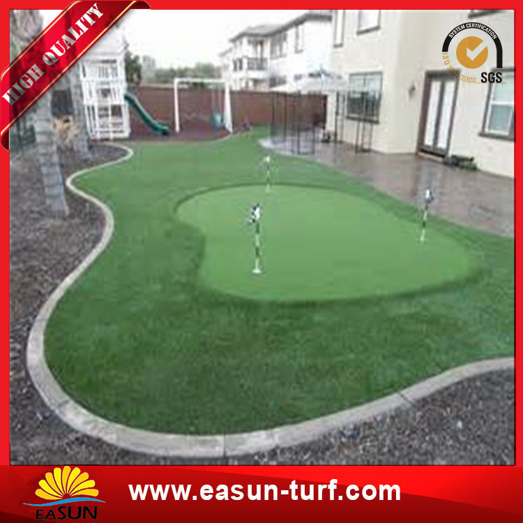 Monoflament Artificial Grass Carpet Artificial Grass Lawn Football Garden-Donut