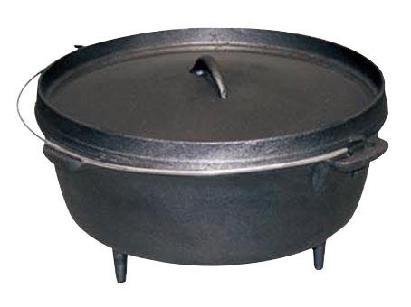 3 Legs Cast Iron Dutch Oven