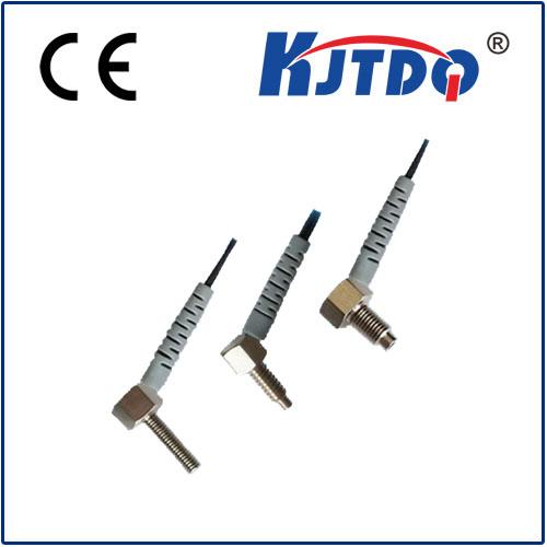 Diffuse right angle fiber sensor