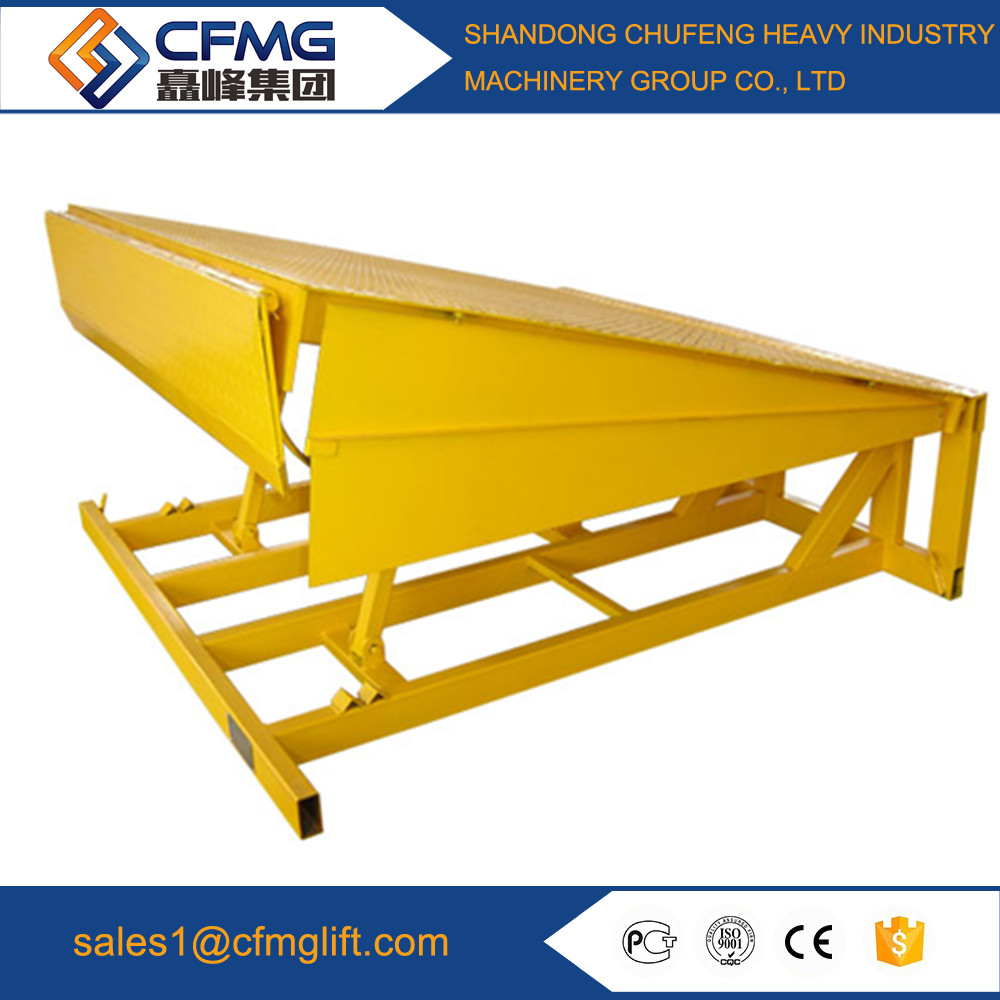 dock leveller/Hydraulic Dock Ramp/container unloading ramp