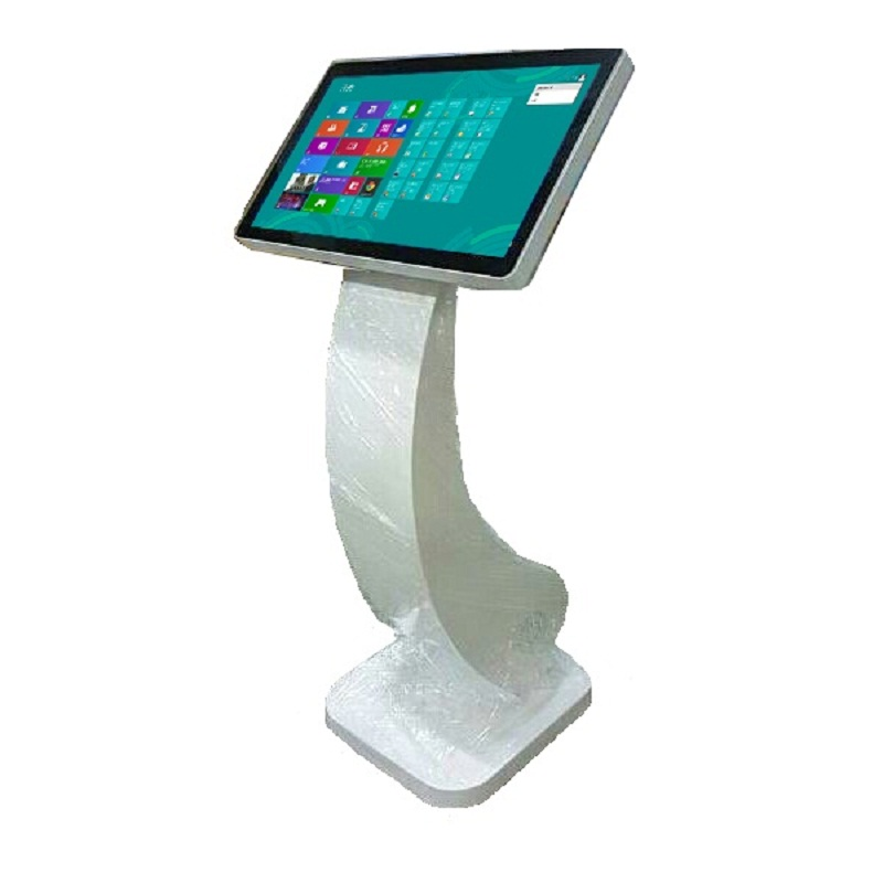 Slim Interactive Touch Kiosk for Shopping Mall