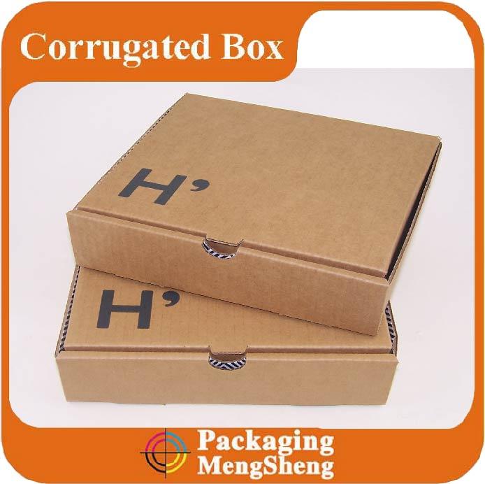 Factory Handmade foldable corrugated carton box specification mail box