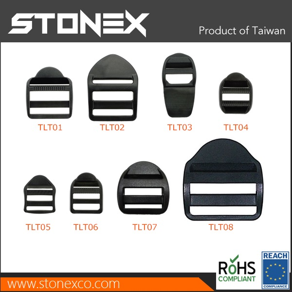 Stonex Plastic Tension Lock Ladder Buckle for bags Duffle Bags adjust webbing stopper